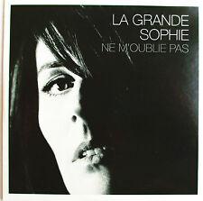 """LA GRANDE SOPHIE - CD SINGLE PROMO """"NE M'OUBLIE PAS"""""""