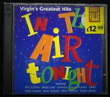 In The Air Tonight Virgin's Greatest Hits CD Album,Meat Loaf,Massive Attack,OMD