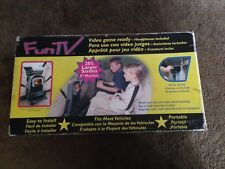 FUNTV Portable VHS Player AC/12vDC Car Tent Cabin Home