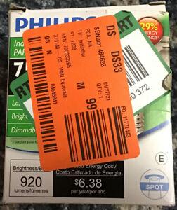 Philips Indoor/Outdoor 75W Equiv. PAR30S Spot Dimmable Light Bulb