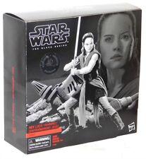 """Star Wars The Last Jedi Black Series TRU Rey Jedi Training on Crait 6"""" Figure!"""