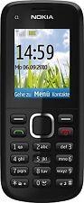 Nokia C1-02 - Black (Unlocked) Basic Mobile Phone