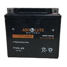 YTX5L-BS ATV Battery Honda TRX90 TRX450 Kymco Mongoose Suzuki QuadSport 50 80