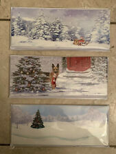 Up With Paper Lot Of 3 LED Lighted/sound Holiday Pop-Up Christmas Cards- Combo