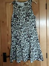 DOROTHY PERKINS LUXE Gorgeous Ladies Duck egg blue yellow Floral Dress Size 14