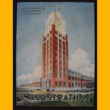 """Architecture Presse LA NOUVELLE IMPRIMERIE DE """"L'ILLUSTRATION"""" À BOBIGNY 1933"""