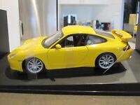 1:18 AUTOART 77812 PORSCHE 911 996 GT3 STREET CAR YELLOW *NEW*