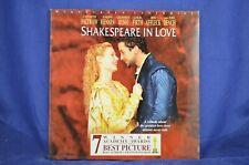 Shakespeare in Love - Gwyneth Paltrow, Joseph Fiennes - Widescreen Laser Disc