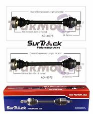Audi 90 Coupe Quattro AWD 1990-1995 Pair of Front CV Axle Shaft Assies SurTrack