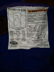 Invacare  Divided Leg Sling, 450 lb. Capacity R100 Medium