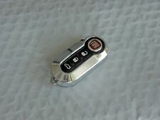 New Chrome Look Case for FIAT 500 3 Button Remote Flip Key Fob  Free US Shipping