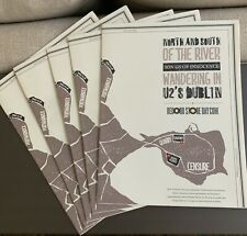 U2 : Lot of 5 Wandering in U2's Dublin Record Store Day Promo Poster 2013