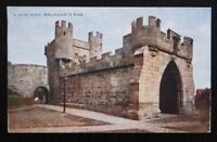 YORK Walmsgate Bar - Vintage Colour Photochrom Postcard A.4736 - Unused