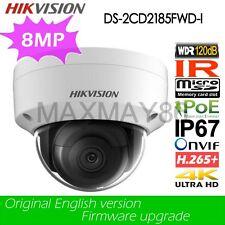 Hikvision DS-2CD2185FWD-I 8MP IP Cameras H.265 PoE 4K IP67 WDR IR TF card slot