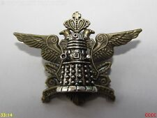 steampunk brooch badge pin crest coat of arms dalek doctor who timelord tardis