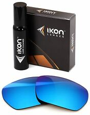 Polarized IKON Replacement Lenses For SPY Optic Blok Sunglasses Ice Blue Mirror