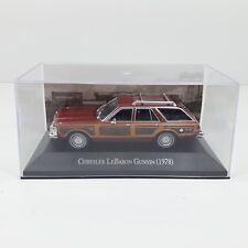 1/43COCHE CAR CHRYSLER LeBARON GUNYIN 1978 ALTAYA IXO MEXICO