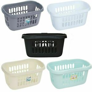 Wham Plastic Hipster Style Storage Basket Washing Clothes Linen