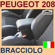 PEUGEOT 208 - BRACCIOLO CON PORTAOGGETTI - per - vedi anche nostri tappeti -@@@