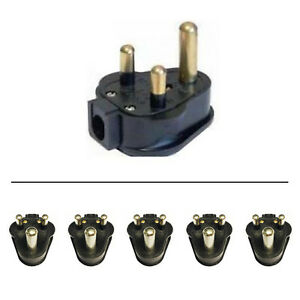 5 x 15 Amp Permaplug Rubber Plug 15A for Stage Theatre Lighting