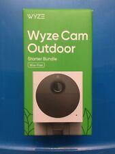 WYZE CAM OUTDOOR STARTER BUNDLE WIRE-FREE