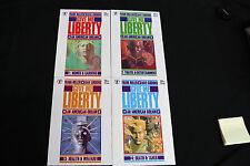 DARK HORSE COMIC'S GIVE ME LIBERTY: AN AMERICAN DREAM SET #1-4 (9.2 OB) 1990