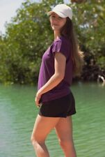 Women's Hemp and Organic Cotton V-Neck Cap Sleeve T-Shirt, Women's Hemp Clothing