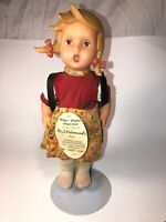 Vintage Large M.J. Hummel Rosl by Engle Puppe Vinyl German Doll Engel-doll