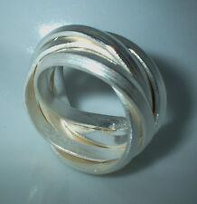 Flamere Ring, 14 mm breit, Silber 999, Flamere Design,  Dieter Fischer