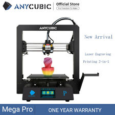 Anycubic Mega Pro 3D Printer Laser Engraving Printing 2-in-1 Silent Motherboard