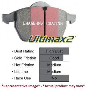 DP61662 EBC Green Stuff Rear Brake Pads for 00-02 Acura MDX 3.5L
