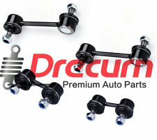 4Pcs Front & Rear Sway Bar End Link Set For Geo Prizm Toyota Corolla Celica