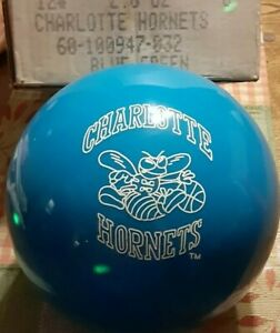 Vintage Charlotte Hornets Bowling Ball With The Box Never Drilled Brunswick