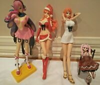 Anime One Piece Figurines model doll toy statue Lot Nami Perona Reiju Lot