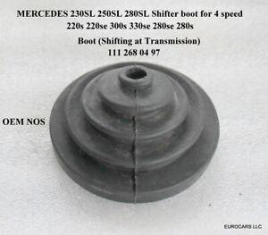 MERCEDES 230SL 250SL 280SL Boot shifting 111 268 04 97 W111 W113 W108