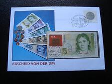 ALLEMAGNE - enveloppe 28/2/2002 (1 billet) (cy28) germany