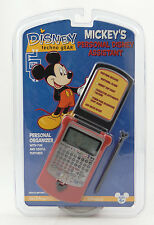 DISNEY TECHNO GEAR - MICKEY'S PERSONAL ASSISTANT (PDA) ~ Digital Organizer ~ NEW