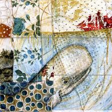 18 x 18 Accent Decor Ceramic Sea Sailboat Mural Backsplash Bath Tile #814