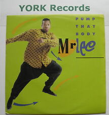 "MR LEE - Pump That Body - Excellent Condition 7"" Single Jive JIVE 246"