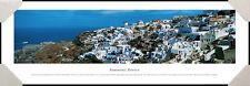 Santorini Greece Cyclades Islands North of Crete & Aegean Sea Framed Picture I