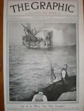 Photo USS SS Western Front fire Scillies 1921