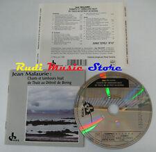 CD JEAN MALAURIE Chants tambours inuit thule detroit de bering(Xs6) NO lp mc vhs