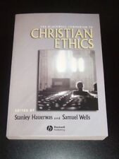 CHRISTIAN ETHICS Blackwell Religion 2006 Hauerwas NEW