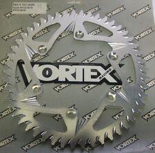 Vortex Motorcycle Rear Sprocket Silver 511-49 Suzuki RM125 RM250 DR250 DR350 DRZ
