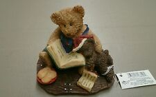 """Russ Berrie Bears from the Past """"Teddy's Favorite Santa Story"""" ~Nwt~"""