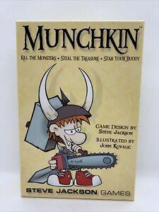 Steve Jackson Games SJG1408 Munchkin Card Game 1st Edition 17th Printing 2010