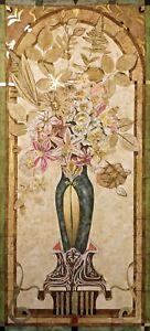 """Richard Hall """"Pastoral Banquet I"""" Limited Ed Mixed Media Artwork, Make Offer!"""