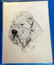 Bouvier Des Flandres 10 Blank Greeting Cards Envelopes Set NEW FREE SHIPPING Dog