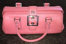 RAFE New York  Pink Purple Pebbled Leather Doctor Bag Purse Medium 13x4.5x5