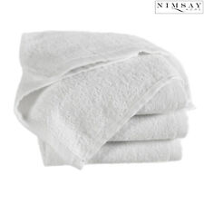 100% Cotton Face Cloth Towels Beauty Flannel Wash Cloth Square [33 x 33 cm] Pack